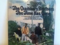 THE  CHAMBER  BROTHERS     LP    THE  TIME  HAS  COME