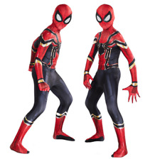 Spiderman Superheld Kinder Jungen Kostüm Cosplay Karneval Faschings Jumpsuit