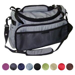 Wickeltasche Kinderwagentasche für Kinderwagen / Buggy etc. NEU schwarz blau rot