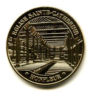 14 HONFLEUR Eglise Sainte-Catherine, 2021, Monnaie de Paris