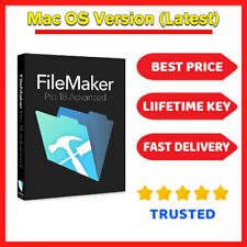 FileMaker Pro Advanced 18 For Mac  🔑 Lifetime License key ⭐ Fast Dilevery