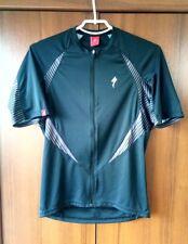 Specialized Black Vintage Cycling Trikot Shirt Jersey size M
