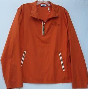 Ashworth women's long sleeve 1/2 zip lightweight polyester golf wind shirt large