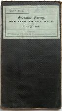 Ordnance Survey MAP 3rd edition (small sheet) No. 286 REIGATE 1904