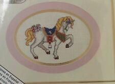 Bead N Stitch Horse Beads Counted Cross Stitch needlework sew NEW Carousel Pony