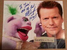 Jeff Dunham Signed Peanut Autograph COA