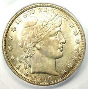1906-O Barber Half Dollar 50C Coin - Certified ICG MS62 (BU UNC) - $1,290 Value!
