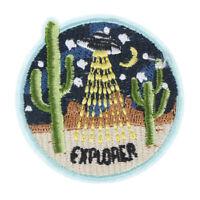 Parche de tela de cactus bordado coser en parches para ropa decoraci QA
