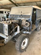 land rover defender 110 300tdi galvanised chassis easy project