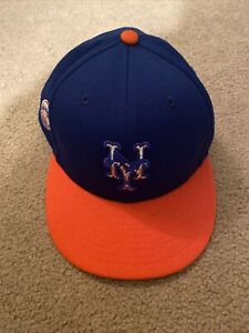 Jeff McNeil 2020 NY Mets Team Issued Batting Practice Cap / Hat - MLB Hologram