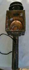Ancienne lampe de calèche , fiacre