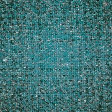 6.125 yds Camira Upholstery Fabric Hebden Hemp Wool Hornby Blue plaid HWC20 QX
