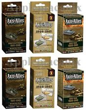 Axis & Allies Miniatures 6 Booster Packs Early War/Counteroffensive/North Africa