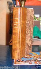 """LACORDAIRE """"Jésus-Christ"""" Lectures Choisies 1903 Belle reliure Cuir Gravure"""