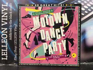 Motown Dance Party Compilation Double LP Album Vinyl Rec ZL72700 Soul 60's 70's