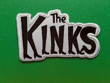 PUNK ROCK HEAVY METAL MUSIC SEW / IRON ON PATCH:- THE KINKS (b) KINKY BOOTS