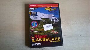 MASTER LANDSCAPE & HOME DESIGN - PC SOFTWARE - 9 POWERFUL PROGRAMS IN ONE - VGC