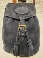Dooney & Bourke Small Suede Black Backpack
