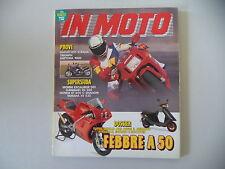IN MOTO 3/1992 MORINI EXCALIBUR/KAWASAKI EN 500/DUCATI 851/TRIUMPH DAYTONA 1000