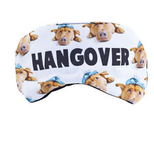 Hangover Drunk Emoji Kitschy Sleeping Mask Lux Accessories Dog Pets Animal Lover