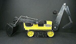 Tonka Back Hoe Excavator Rubber Tracks 2012 Hasbro 92534 Yellow & Black