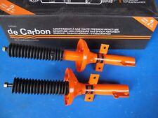 2 Amortisseurs avant à gaz De Carbon pour Ford Escort V25571853