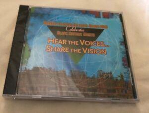 Noir Histoire Entendre The Voices Share The Vision Promo CD Neuf Scellé Rare
