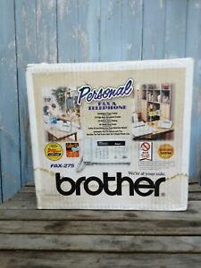 NEW Brother 275 Personal Fax and Telephone Fax Opened Box