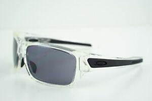 Oakley Turbine Rotor Polished Clear/Grey Sunglasses