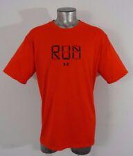 Under Armour Running heat gear men's athletic t-shirt red XXL new