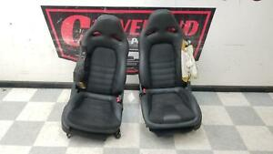 2017-2018 Nissan GT-R GTR Premium R35 OEM Front Seats Leather & Suede PARTS ONLY