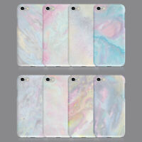 MARBLE IRIDESCENT COLOURS PHONE CASE FOR IPHONE 7 8 XS XR SAMSUNG S8 S9 PLUS