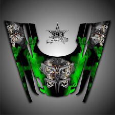GRAPHICS DECAL WRAP POLARIS GEN II 2, 1999 2000 2001 2002 2003 OUTLAW Green