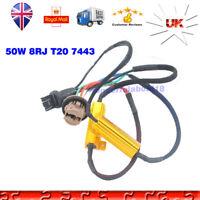 T20 7443 W21/5W 580 Canbus No Error Free LED Bulb Hyper Flash Canceller Decoder