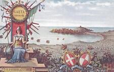 A9616) LATINA 1860/61 FESTA ANNIVERSARIA DELL'ARMA DEL GENIO, 13 FEBBRAIO 1912