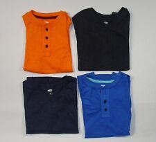 Old Navy Boys LOT Top T Shirt Tee Short Sleeve Orange Blue Black Size Medium M 8