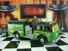 '17 MATCHBOX PIERCE DASH FIRE ENGINE LOOSE 1:64 SCALE