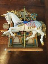 Vintage Tobin Fraley Signed, The American Carousel with Music Box/Ltd 1011/4500