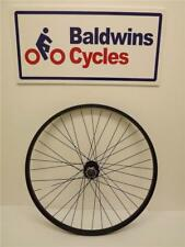 "26"" FRONT DISC BRAKE Mountain Bike / Cycle Wheel - BLACK - Quick Release Hub"