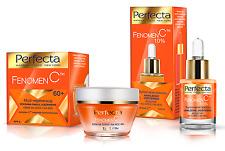 PERFECTA SATZ  Serum mit Vitamine C 10% + Anti-Aging Creme 60+ ANTI-FALTEN