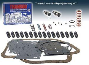 Turbo 400 TRANSMISSION SHIFT KIT 1965 & UP Turbo 400 Reprogramming Kit 400 1&2