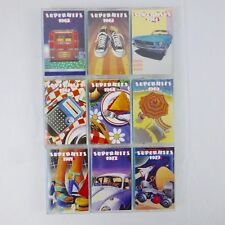 Time Life Music Super Hits, 9 Cassette Set 1991 Warner Special Products