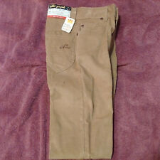 Vtg. Chic Corduroy Jeans for Girls by h.i.s Size 10 W22 Slim Fit Tan