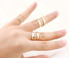 Markenlose Modeschmuck-Ringe im Band-Stil aus Metalllegierung