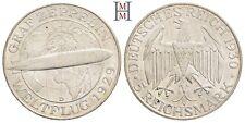 """HMM - 5 Reichsmark 1930 D Zum Weltflug des """"Graf Zeppelin"""" 1929 - 170413022"""