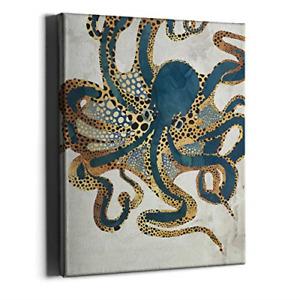 kraken print printable wall decor Octopus wall art