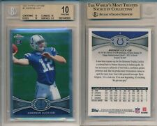 Andrew Luck Stanford COLTS 2012 Topps Chrome #1 Rookie Card rC BGS 10 Pristine