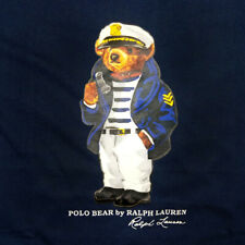 Ralph Lauren Navy Polo Bear T Shirt