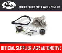 GATES TIMING BELT AND WATER PUMP KIT FOR PEUGEOT 206 CC 2.0 S16 136 BHP 2000-