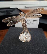 LALIQUE Dragonfly Figura Gold Luster 10371000 nella casella Nuovo di zecca!